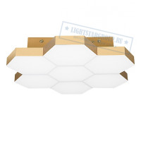 Люстра LIGHTSTAR Favo LED-35W 1680LM Satin Gold 3000K 750071